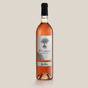 Cuvee IV generation Paul Herpe AOC Clape - bouteille vin rosé collection premium